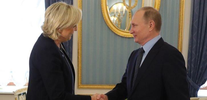 Рейдер Путин наехал на французскую подругу