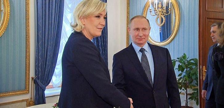 Конец романа Путина и мадам Ле Пен