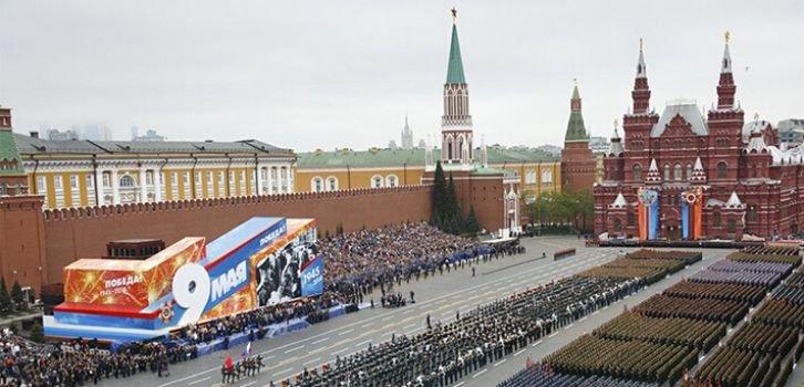 Кремль наступает