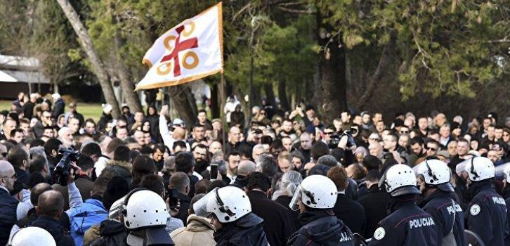 Як РФ розпалює ворожнечу між Чорногорією і Сербією