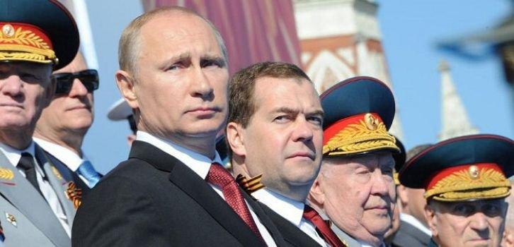 Европейцы на параде Путина как унижение Европы