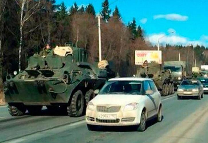 В Москву вводят войска под предлогом эпидемии