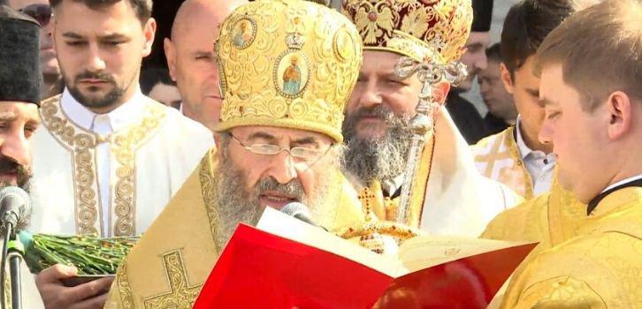 Глава УПЦ (МП) возглавил масштабный протест сербской церкви в Черногории