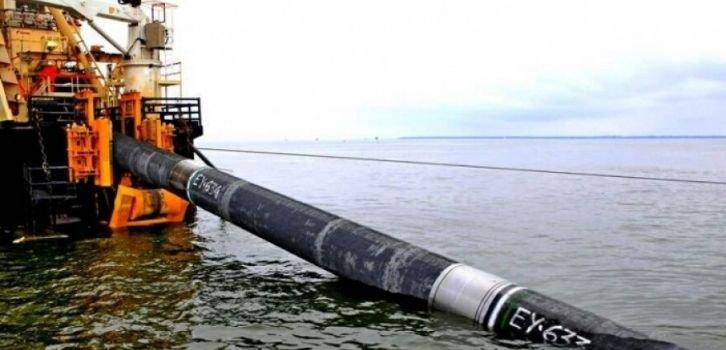 Спецкорабли покидают зону прокладки Северного потока-2