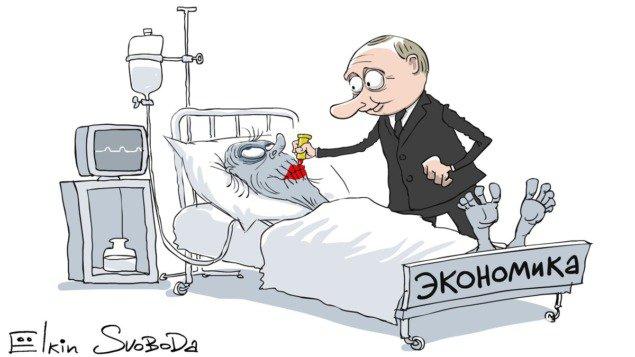 Нытье обнуленца и обрушение РФ в бездну