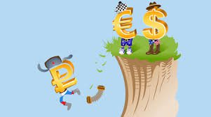 Рубль летит вниз после краха цены барреля