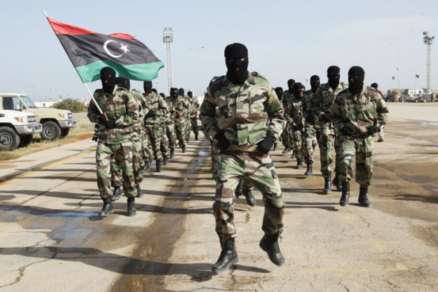 Российская армия в Ливии полностью разгромлена. Сотни пленных и убитых