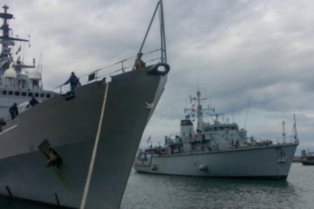 В Балтийском море стартовали военные учения 19 стран НАТО