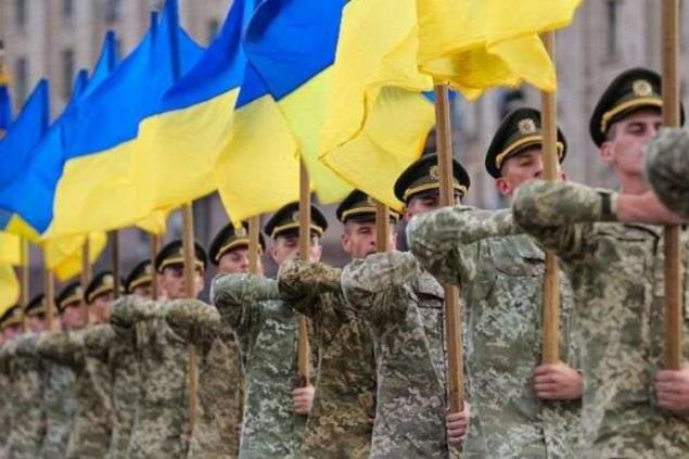 Украинский военный – окоп, парад, талон в метро