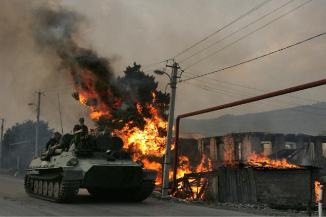 2008 war as a Russian propaganda against Georgia