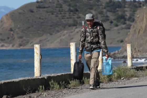 Как Поклонская и Ковитиди воду в Крым не пускают