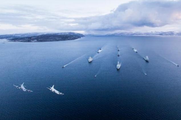 НАТО начала учения против подлодок на севере Атлантики