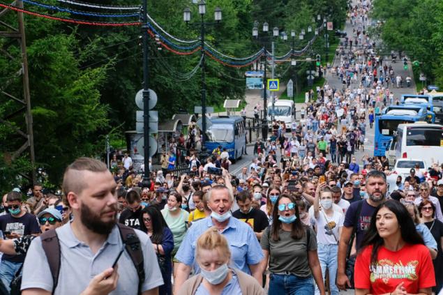 Кремль продолжает попытки мешать губернатора Фургала с грязью и дискредитировать народный протест рядовых хабаровчан