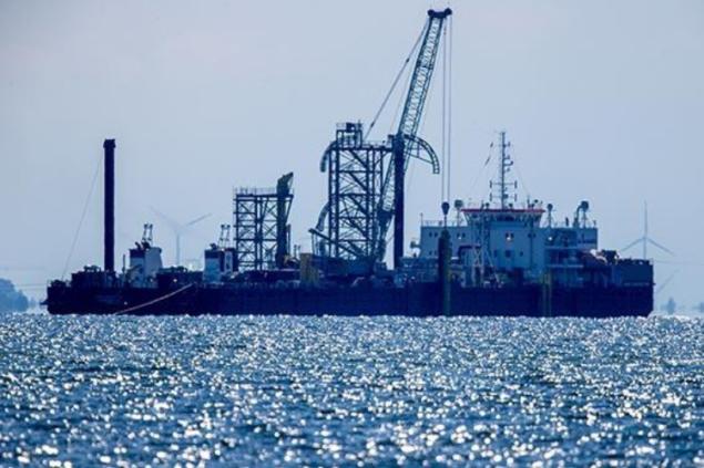 Дания запретила работы на «Северном потоке-2» из-за трески