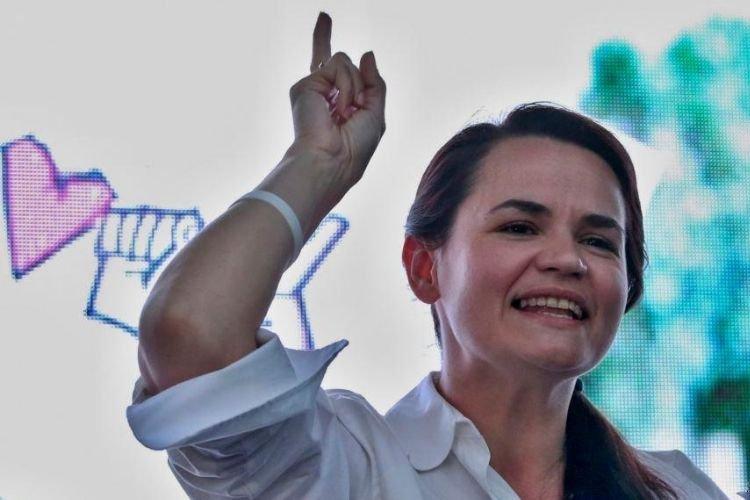 Тихановская готова стать национальным лидером