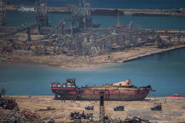 Кипрская полиция допросила россиянина в связи со взрывом в порту Бейрута
