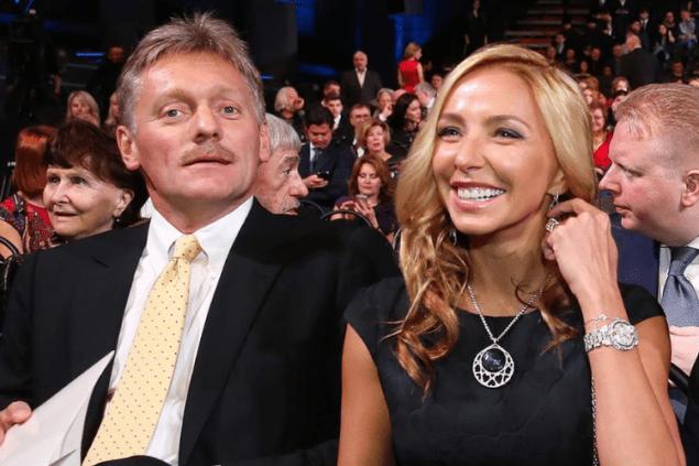 Супруга Пескова заработала больше остальных жен высших чиновников