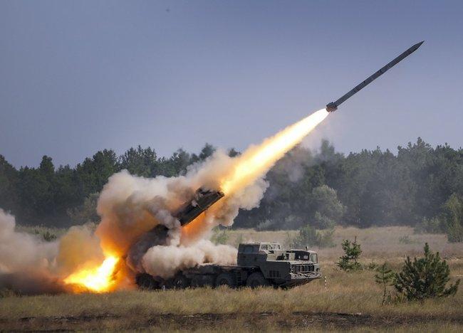 На учениях «Объединенные усилия-2020» прошли учебно-боевые стрельбы с использованием ракетных систем
