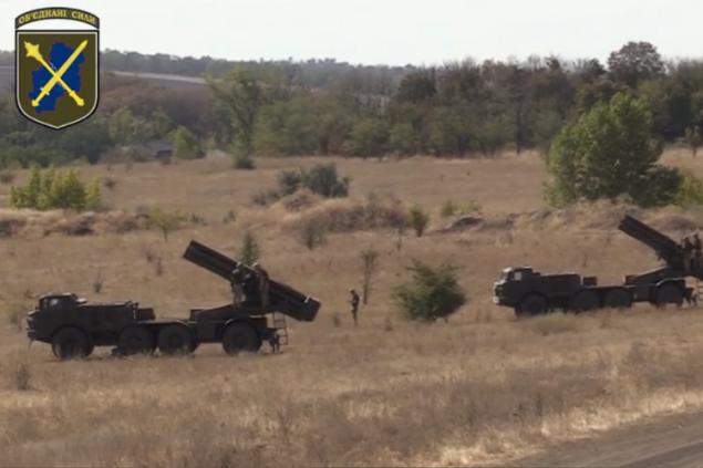 На Донбассе прошли учения резерва Объединенных сил