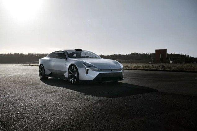 Polestar Precept, електричний седан на базі Android, запускають у виробництво