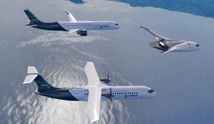 Самолеты на водороде станут будущим гражданской авиации – Airbus