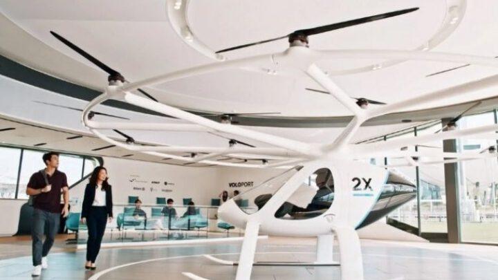 Полет на электрическом аэротакси уже можно забронировать – Volocopter