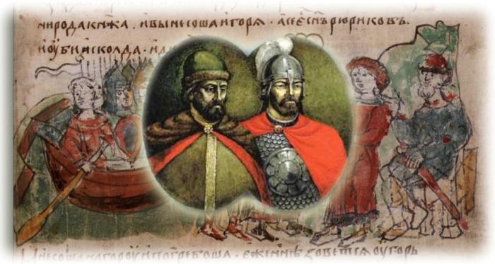 Життя  князя-мученика Діра (у святому хрещенні Іллі)