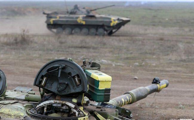 На Николаевщине прошли учения с использованием беспилотников Bayraktar и ПТРК «Джавелин»