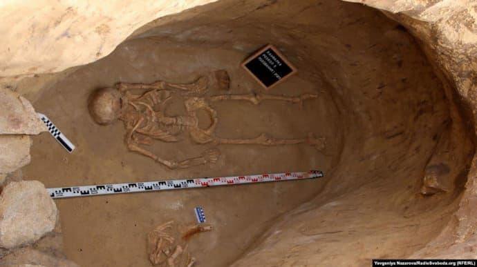 На Хортиці вперше знайдено повністю вціліле скіфське поховання