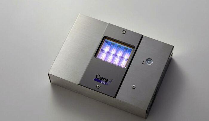 Ультрафиолетовая бактерицидная лампа убивает COVID и оставляет людей невредимыми