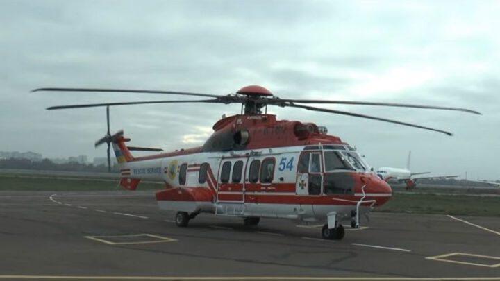 ГСЧС получила пятый вертолет Airbus H225 Super Puma