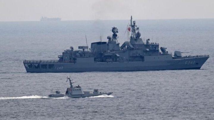 ВМС Украины провели совместную тренировкус постоянной противоминной группой НАТО