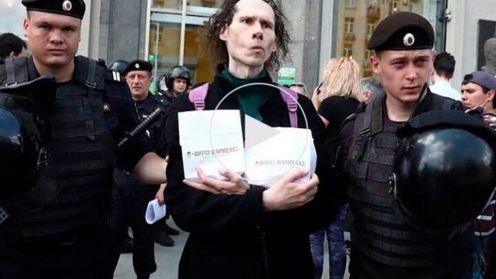 Как плешфюрер кормит силовиков за счёт самих же протестующих на коленях россиян