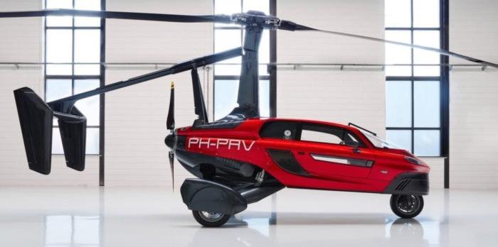 1300 км или 4 часа полета — в Нидерландах зарегистрировали первый летающий автомобиль