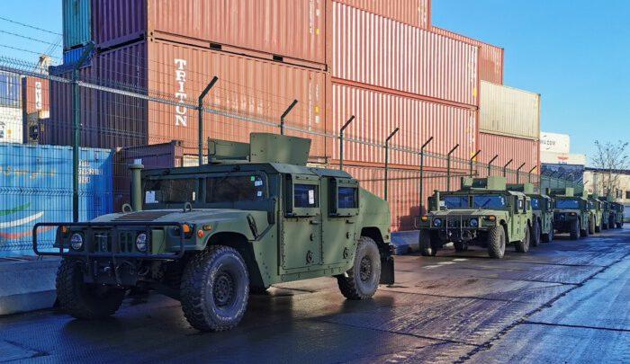 Вашингтон передал Киеву более 100 единиц военной техники
