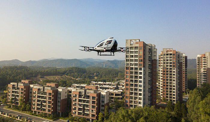 EHang запускает услуги воздушного туризма
