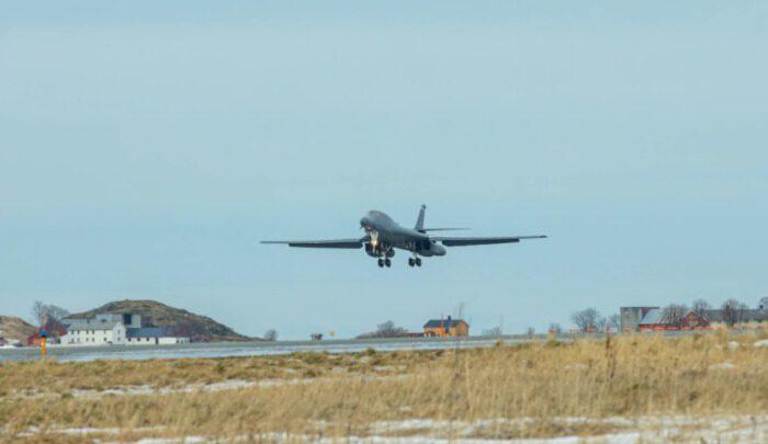 В Норвегии впервые разместили стратегические бомбардировщики США