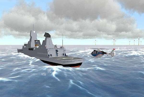 Дополненная реальность помогает пилотам вертолетов выполнять сложные маневры в море