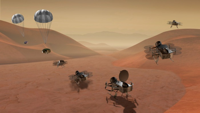 Семьсот лье под метановыми морями Титана