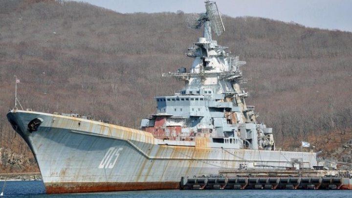 Россия лишилась атомных крейсеров. «Адмирал Лазарев» сдали на лом на радость наркоманам