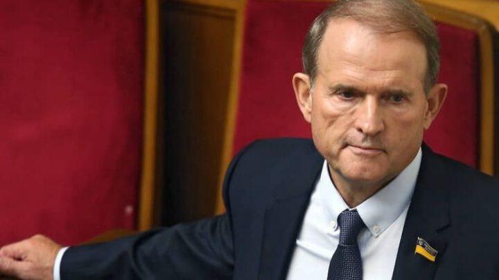 Украина ввела санкции против Медведчука