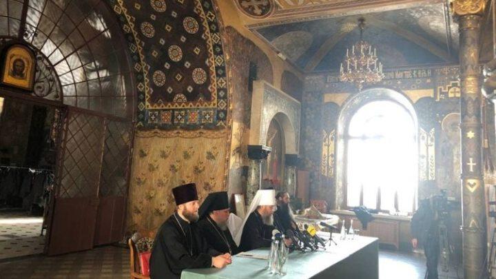 В Киево-Печерской лавре согласовывают план по срыву визита Варфоломея в Украину