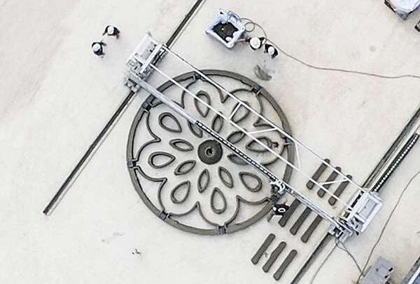 НАСА и партнеры тестируют ракетную площадку, напечатанную на 3D-принтере, разработанную студентами