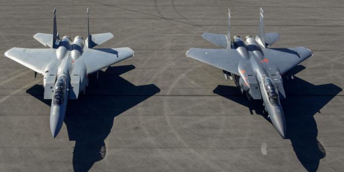 Первый F-15EX ВВС США прибыл на авиабазу Эглин