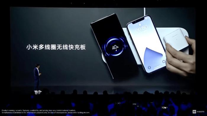 Xiaomi представляет беспроводную зарядную панель, клон Apple AirPower, за 90$, на три устройства одновременно