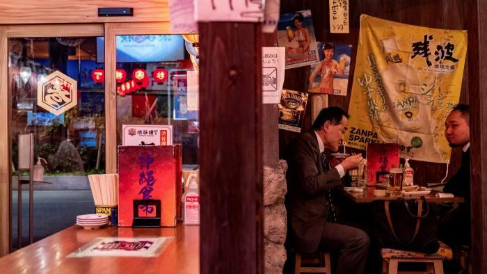 Ковід полишає ресторани Японії прихопивши кілька смачних страв