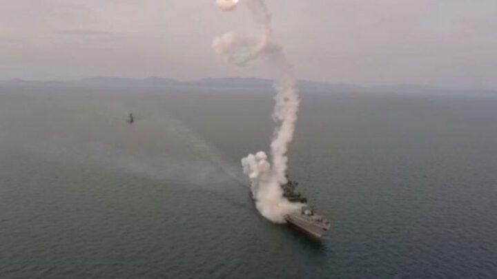 Російський фрегат ледь не підбив себе власною ракетою під час випробувань