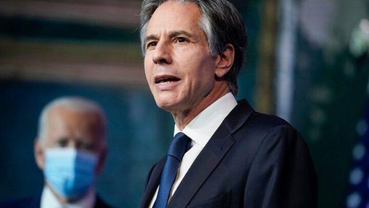Госсекретарь США обсудит в Брюсселе с партнерами по НАТО ситуацию на украинско-российской границе
