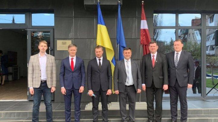 Відкрито Почесне консульство Латвії у місті Слов'янськ Донецької області