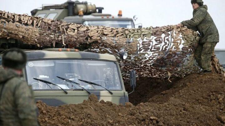 США, Франция и Германия требуют от России прекратить наращивать силы у границ Украины